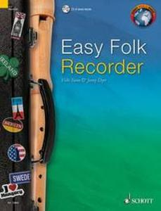 EASY FOLK RECORDER (52 PIECES TRADITIONNELLES) +CD - FLUTE A BEC SOPRANO