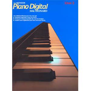 PIANO DIGITAL : METHODE VOL.2 - CLAVIER