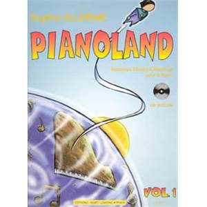 ALLERME LONDOS S - PIANOLAND VOL.1 + CD - PIANO