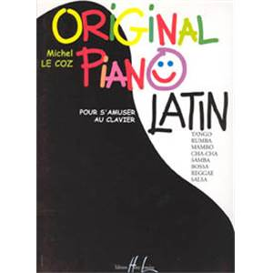 LE COZ MICHEL - ORIGINAL PIANO LATIN
