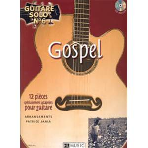 JANIA PATRICE - GUITARE SOLO VOL.6 : GOSPEL + CD