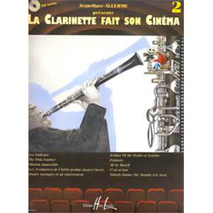 ALLERME JEAN MARC - LA CLARINETTE FAIT SON CINEMA VOL.2 + CD