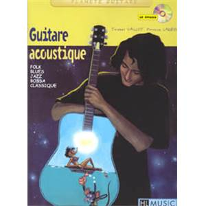 LARBIER PATRICK / VAILLOT THIERRY - GUITARE ACOUSTIQUE + CD