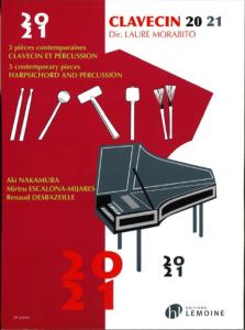 MORABITO LAURE - CLAVECIN 20-21 3 PIECES CONTEMPORAINES- CLAVECIN