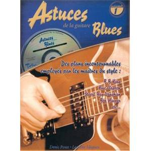 ROUX D. / MIQUEU L - ASTUCES DE LA GUITARE BLUES + CD