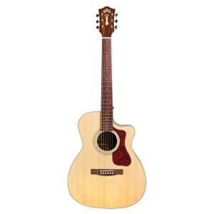 GUITARE FOLK ELECTRO-ACOUSTIQUE GUILD OM-140CE NATUREL WESTERLY