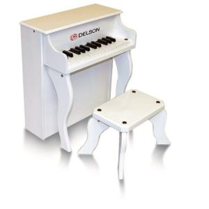 DELSON  PIANO BEBE 25 TOUCHES BLANC