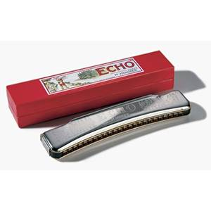 HARMONICA DIATONIQUE CINTRE HOHNER ECHO 1496/48