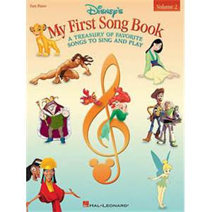 DISNEY - MY FIRST SONGBOOK EASY PIANO VOL.2