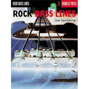 SANTERRE JOE - BERKLEE ROCK BASS LINES + CD
