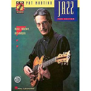MARTINO PAT - JAZZ FOR GUITAR TAB. + CD