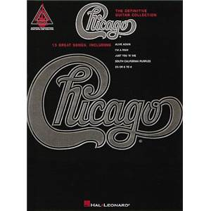 CHICAGO - DEFINITIVE GUITAR TAB. COLLECTION