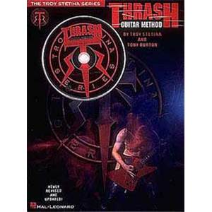 STETINA TROY - THRASH GUITAR METHOD TAB. + CD