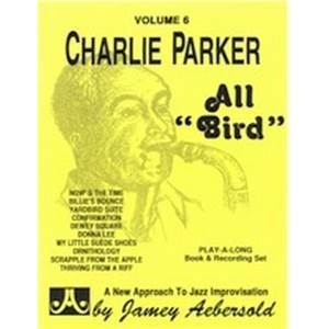 PARKER CHARLIE - AEBERSOLD 006 ALL BIRD + CD