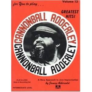 ADDERLEY CANNONBALL - AEBERSOLD 013 + CD