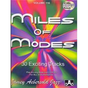 COMPILATION - AEBERSOLD 116 MILES MODES + 2CD