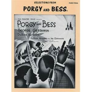 GERSHWIN GEORGE - PORGY ET BESS VOCAL SELECTION P/V/G