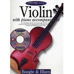 COMPILATION - SOLO PLUS BOOGIE BLUES VIOLIN + CD