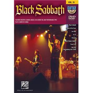 BACK SABBATH - GUITAR PLAY ALONG DVD VOL.15