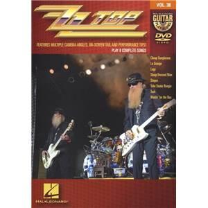 ZZ TOP - GUITAR PLAY ALONG DVD VOL.38