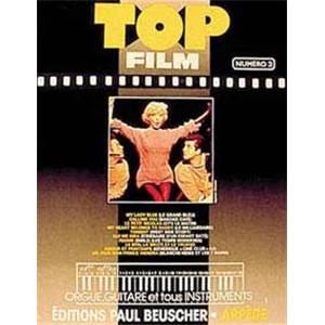 COMPILATION - TOP FILMS VOL.3 PIANO SIMPLIFIE PAROLES ET ACCORDS