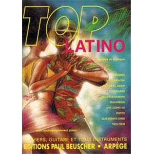 COMPILATION - TOP LATINO LIGNE MELODIQUE ET ACCORDS