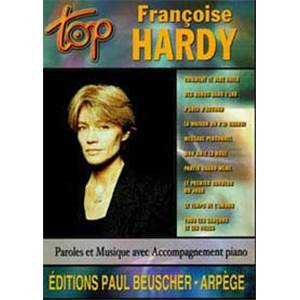 HARDY FRANCOISE - TOP HARDY - CHANT, GUITARE OU PIANO