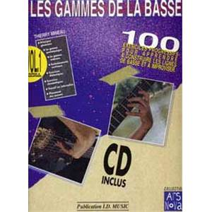 MINEAU THIERRY - GAMMES BASSE + CD
