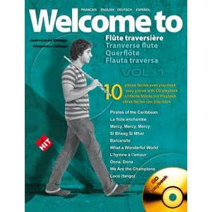 COMPILATION - WELCOME TO FLUTE TRAVERSIERE VOL.1 + CD