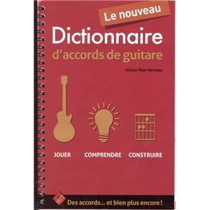 PAIN HERMIER - LE NOUVEAU DICTIONNAIRE D'ACCORDS DE GUITARE