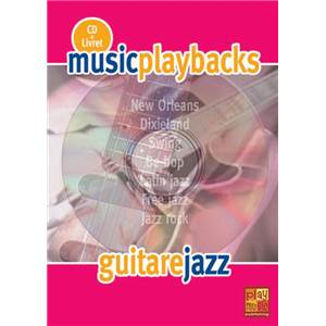 FDBAND - MUSIC PLAYBACKS GUITARE JAZZ + CD