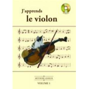 LESSEUR OLIVIER - J'APPRENDS LE VIOLON VOL.1 + CD