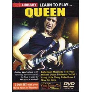 QUEEN - DVD LICK LIBRARY LEARN TO PLAY