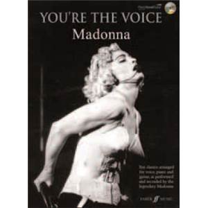MADONNA - YOU'RE THE VOICE + CD
