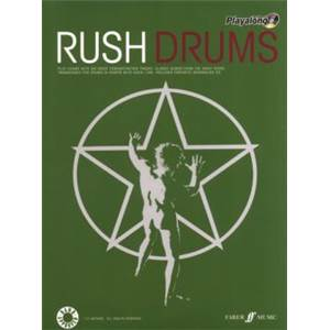 RUSH - AUTHENTIC PLAY ALONG DRUM + CD