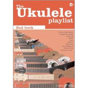 COMPILATION - UKULELE PLAYLIST THE RED VOL.CHORD SONGBOOK