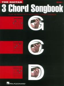 COMPILATION - 3-CHORD SONGBOOK : VOLUME 1 G-C-D