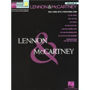 LENNON / MCCARTNEY - PRO VOCAL FOR MALE SINGERS VOL.25 + CD