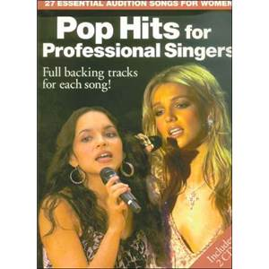 COMPILATION - AUDITION SONGS FOR FEMALE SINGERS : POP HITS + 2CDS