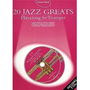 COMPILATION - GUEST SPOT JAZZ GREAT POUR TROMPETTE + 2CDS