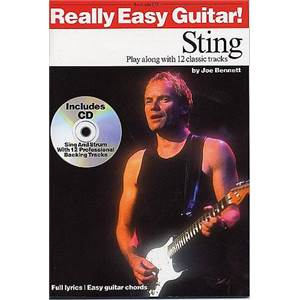 STING / POLICE THE - REALLY EASY GUITAR + CD