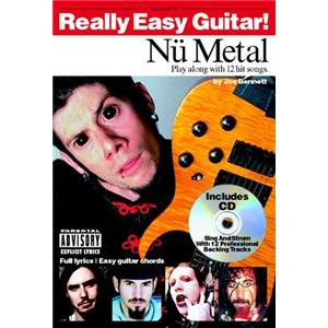 COMPILATION - REALLY EASY GUITAR NÜ METAL + CD