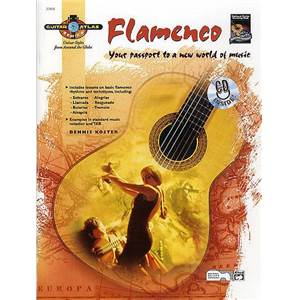 KOSTER DENNIS - GUITAR ATLAS FLAMENCO YOUR PASSPORT TO A NEW WORLD OF MUSIC + CD