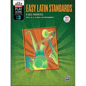 COMPILATION - EASY PLAY ALONG VOL.3 EASY LATIN STANDARDS FOR C, BB, EB AND BASS CLEF + CD