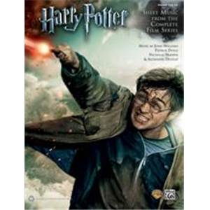 COMPILATION - HARRY POTTER SHEET MUSIC FROM THE COMPLETE FILM SERIES 5 FINGER PIANO SOLOS
