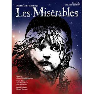 BOUBLIL / SCHONBERG - LES MISERABLES PIANO SOLOS 2012 REVISED EDITION