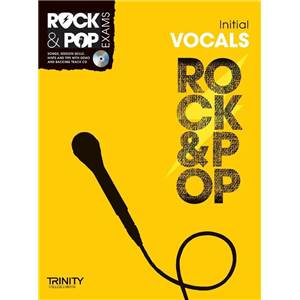COMPILATION - TRINITY COLLEGE LONDON : ROCK & POP INITIAL FOR SINGERS + CD