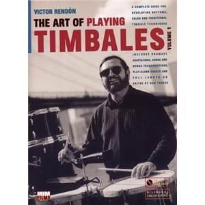 RENDON V - ART OF PLAYING TIMBALES + CD