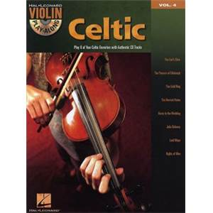 COMPILATION - VIOLIN PLAY ALONG VOL.004 CELTIC MELODIES + CD