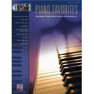 COMPILATION - PIANO DUET PLAY ALONG VOL.01 PIANO FAVOURITES + CD